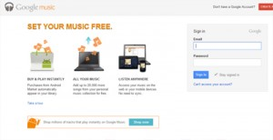 Google Music - Being Marketing