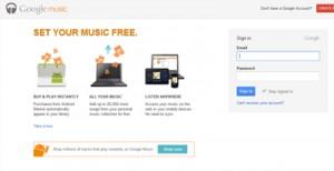 Google Music - Being Marketing