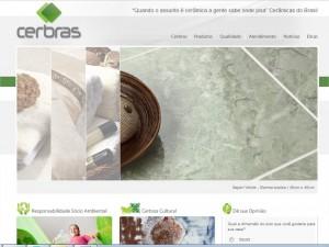 Site Cerbras Revestimentos Ceramicos