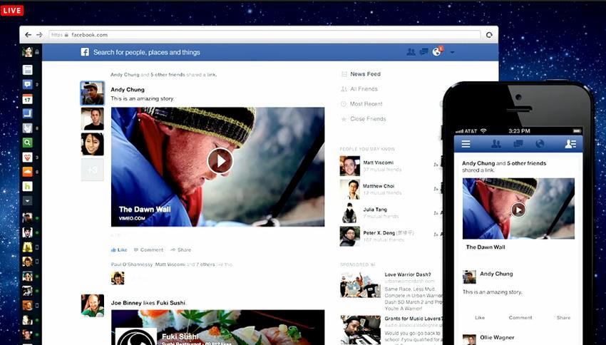 Novo Feed de Notícias do Facebook - Being